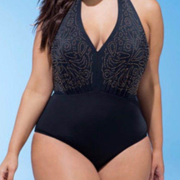 Swimsuits For All Other - Halter One Piece Swimsuit